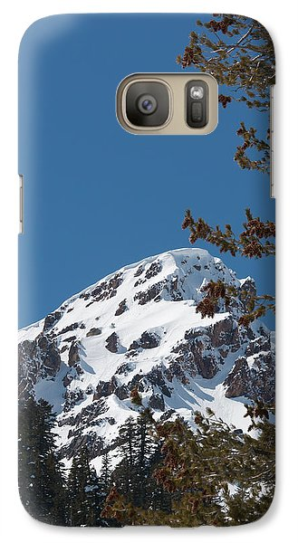 Galaxy Case featuring the photograph Brokeoff Mtn. In Spring by Jan Davies