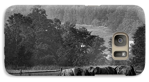 Galaxy Case featuring the photograph Broodmares by Joan Davis