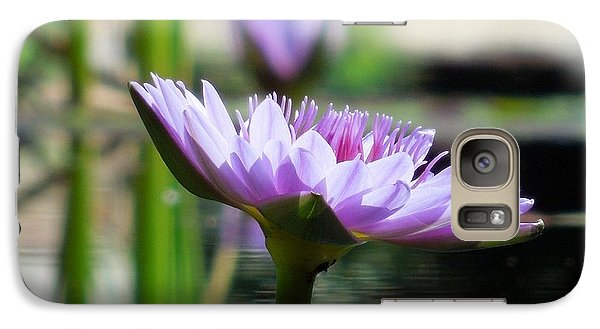 Galaxy Case featuring the photograph Brookgreen Garden Water Lily by Chad and Stacey Hall