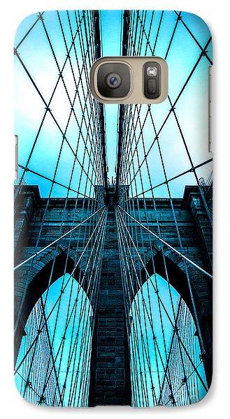 Brooklyn Blues Galaxy S7 Case by Az Jackson