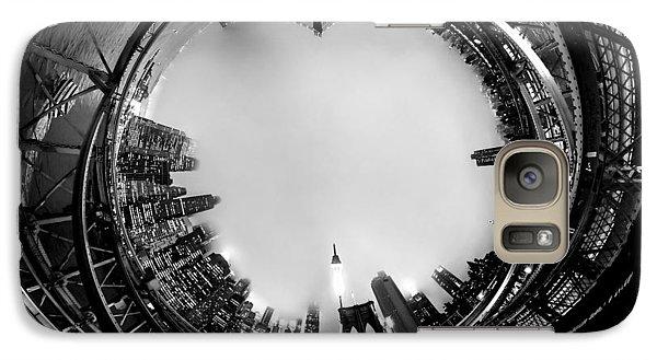 Brooklyn Bridge Circagraph 4 Galaxy S7 Case by Az Jackson