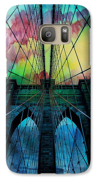 Psychedelic Skies Galaxy S7 Case by Az Jackson