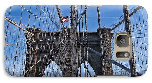 Galaxy Case featuring the photograph Brooklyn Bridge by David Gleeson