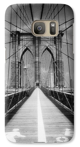Brooklyn Bridge Infrared Galaxy S7 Case