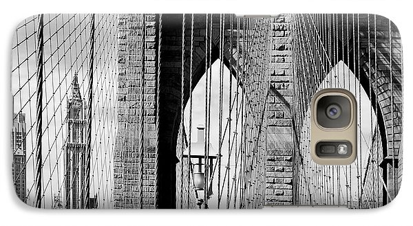 Brooklyn Bridge New York City Usa Galaxy S7 Case by Sabine Jacobs