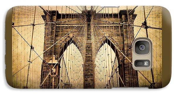 Brooklyn Bridge Nostalgia Galaxy S7 Case