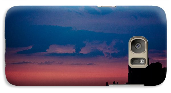 Galaxy Case featuring the photograph Brooklyn Bridge Sunrise by Sara Frank
