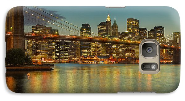 Brooklyn Bridge Twilight Galaxy S7 Case