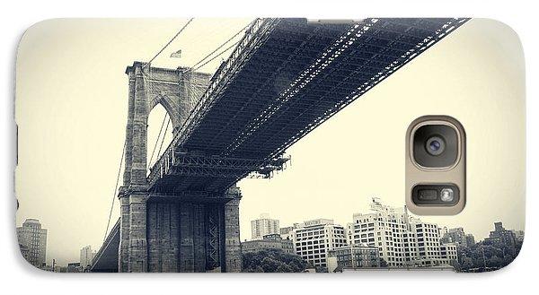 Galaxy Case featuring the photograph Brooklyn Bridge1 by Paul Cammarata