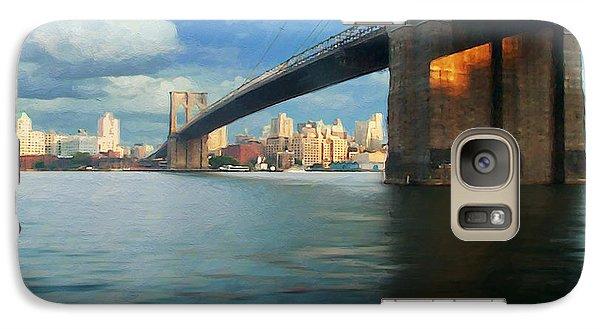 Galaxy Case featuring the digital art Brooklyn by David Klaboe