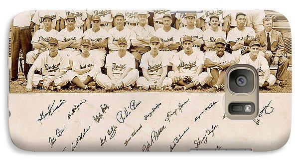 Brooklyn Dodgers Baseball Team Galaxy S7 Case