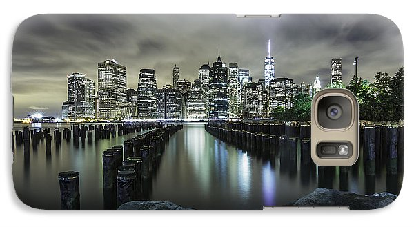 Galaxy Case featuring the photograph Brooklyn On The Rocks  by Anthony Fields