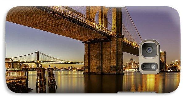 Galaxy Case featuring the photograph Brooklyn Sunrise by Anthony Fields