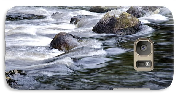 Galaxy Case featuring the photograph Brora River Scotland by Sally Ross