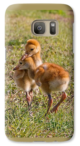 Galaxy Case featuring the photograph Brotherly Love by Phil Stone