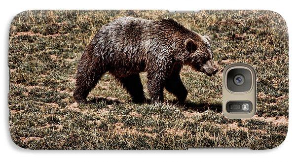 Galaxy Case featuring the photograph Brown Bears by Angel Jesus De la Fuente