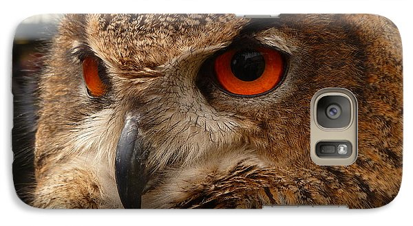 Galaxy Case featuring the photograph Brown Owl by Vicki Spindler