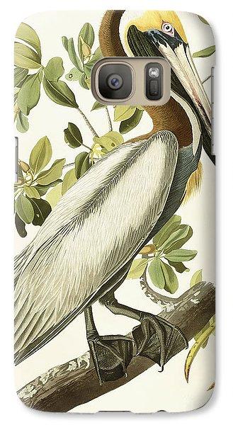 Brown Pelican Galaxy Case by John James Audubon