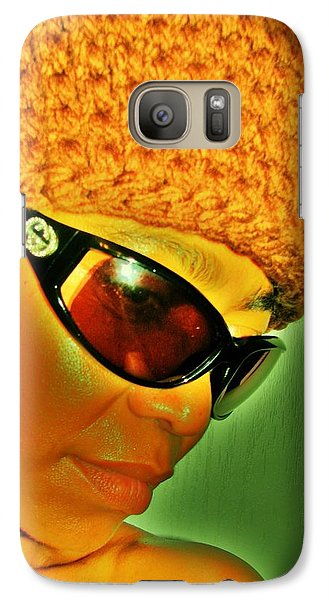 Galaxy Case featuring the photograph Brown Suga by Cleaster Cotton