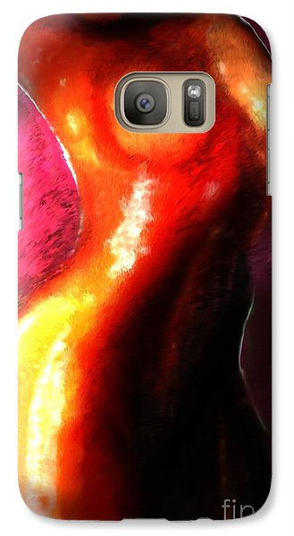 Galaxy Case featuring the painting Brown Sugar by Vannetta Ferguson