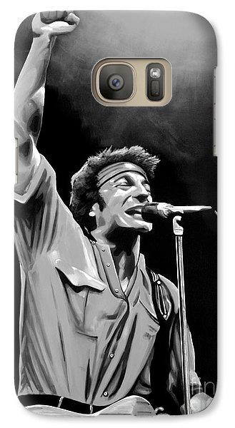 Bruce Springsteen Galaxy S7 Case by Meijering Manupix