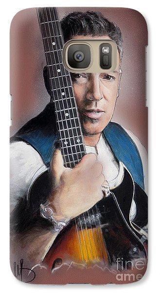 Bruce Springsteen Galaxy S7 Case by Melanie D