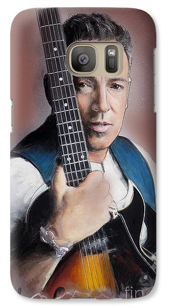 Bruce Springsteen Galaxy Case by Melanie D