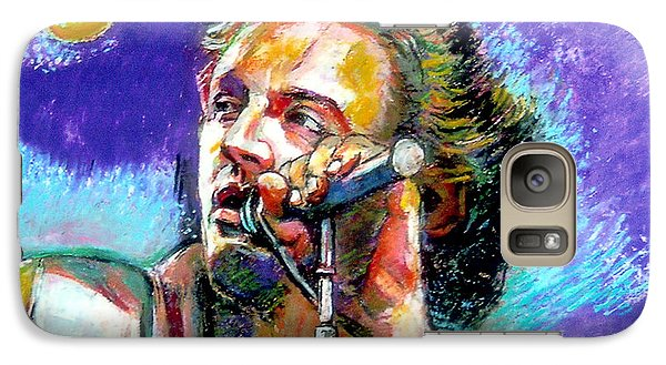 Galaxy Case featuring the painting Bruce Springsteen by Stan Esson