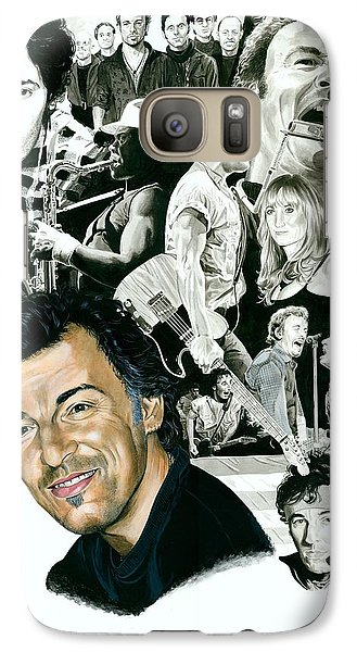 Bruce Springsteen Through The Years Galaxy S7 Case