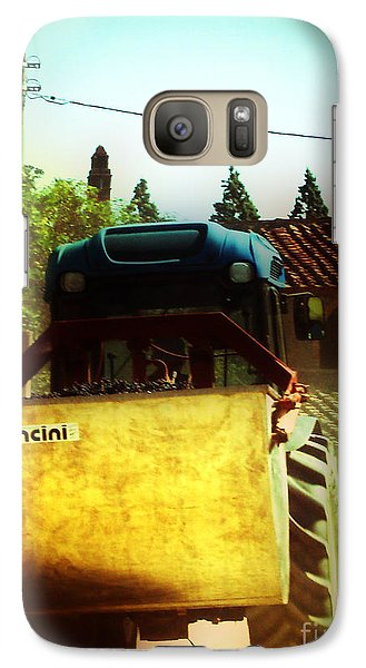 Galaxy Case featuring the photograph Brunello Taxi by Angela DeFrias