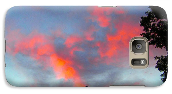 Galaxy Case featuring the photograph Brush Strokes by Zafer Gurel