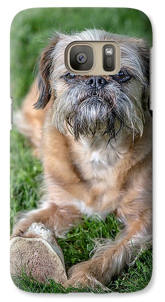 Brussels Griffon Galaxy Case by Edward Fielding