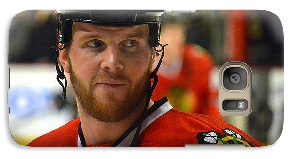 Galaxy Case featuring the photograph Bryan Bickell by Melissa Goodrich