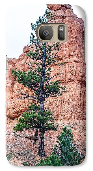 Galaxy Case featuring the photograph Bryce Canyon Lan468 by G L Sarti