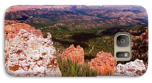Galaxy Case featuring the photograph Bryce Canyon National Park by Ann Johndro-Collins