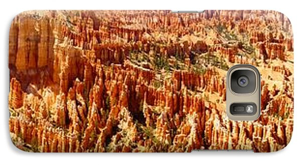 Galaxy Case featuring the photograph Bryce Canyon Utah Panoramic by Kathy Churchman