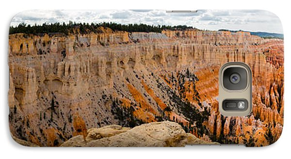 Galaxy Case featuring the photograph Bryce Panorama by Jim Snyder