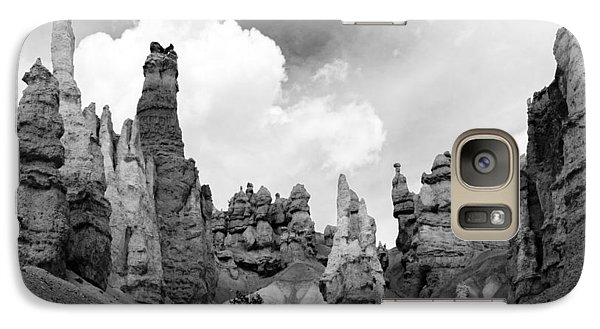 Galaxy Case featuring the photograph Bryce Sentinels by Jim Snyder
