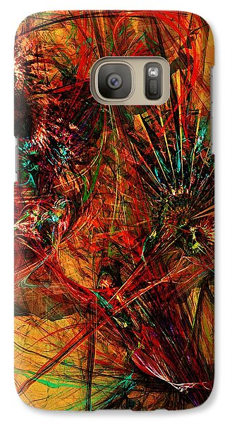 Galaxy Case featuring the digital art Bstract 011414 by David Lane