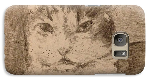 Galaxy Case featuring the painting Bubba by Stan Tenney