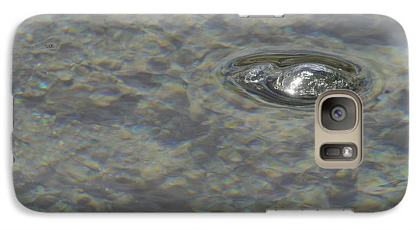 Galaxy Case featuring the photograph Bubble Bubble by Nadalyn Larsen