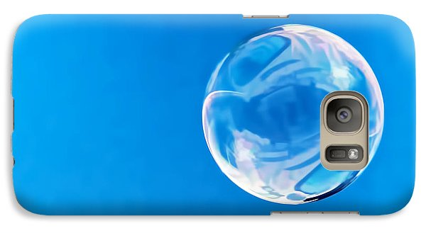 Galaxy Case featuring the photograph Bubble by Don Durfee