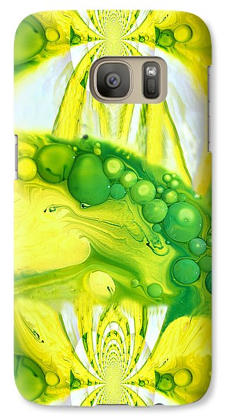 Galaxy Case featuring the photograph Bubbleicious by Robert Kernodle