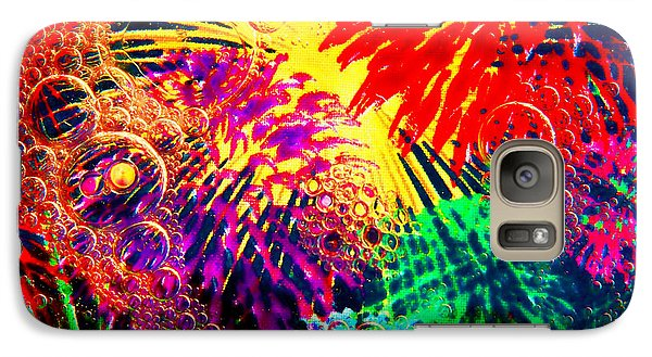 Galaxy Case featuring the photograph Bubbles by Geraldine DeBoer