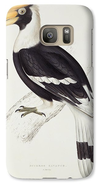 Great Hornbill Galaxy S7 Case by John Gould