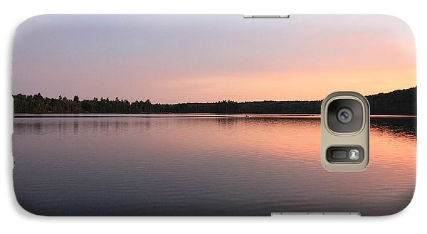 Galaxy Case featuring the photograph Buck Pond At Dusk by Paul Cammarata