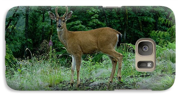 Galaxy Case featuring the photograph Buck by Rod Wiens