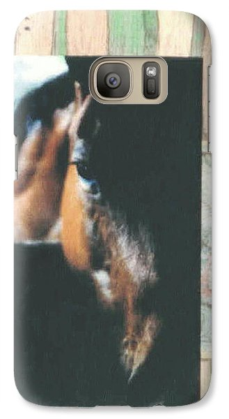Galaxy Case featuring the mixed media Bud by Mary Ann Leitch