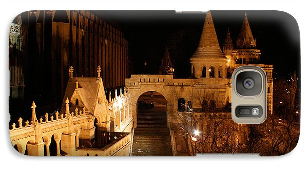 Galaxy Case featuring the photograph Budapest At Midnight by Jon Emery