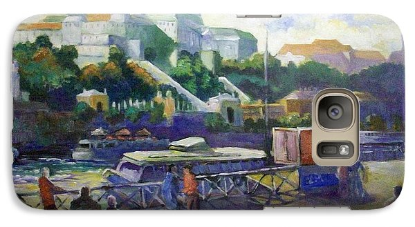 Galaxy Case featuring the painting Budapest  Hungary by Paul Weerasekera